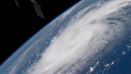 NASA: Así luce el huracán Dorian desde el espacio