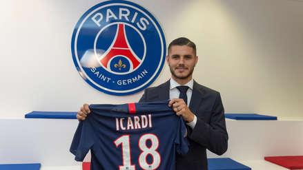¡Oficial! El delantero argentino Mauro Icardi firmó por el PSG