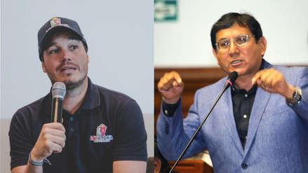 Un alcalde vs. un congresista: George Forsyth y Ángel Neyra enfrentados por 'Ley de Emolienteros'