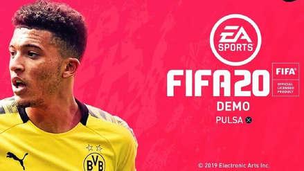 FIFA 20: Filtran la fecha de lanzamiento del demo, sus equipos y los modos de juego disponibles