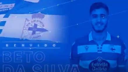¡Oficial! Beto Da Silva es nuevo jugador de Deportivo La Coruña