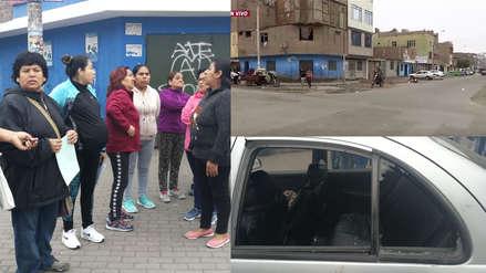 La Victoria: Vecinos realizan plantón para exigir mayor seguridad en las calles