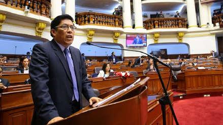 Ministro Zeballos rechazó haber obstruido investigación en caso 'Goro' tras interpelación en el Congreso