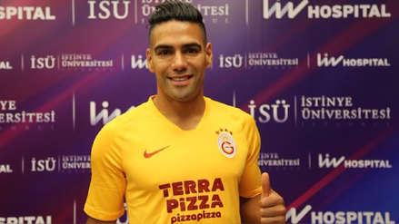 ¡Confirmado! Radamel Falcao fue oficializado como el gran fichaje de Galatasaray de Turquía