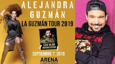 """Ezio Oliva sobre gira con Alejandra Guzmán: """"Mi gran reto es conquistar cada uno de esos corazones"""