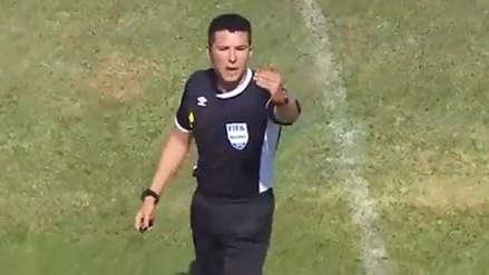 ¡Insólito! Kevin Ortega expulsó a jugador de Atlético Grau y luego lo hizo reingresar a la cancha