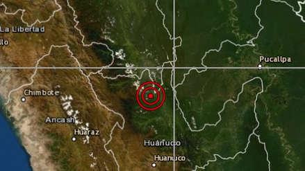 Un sismo de magnitud 5.1 remeció Huánuco esta madrugada