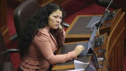 Pleno del Congreso aprobó suspender a Yesenia Ponce por 60 días