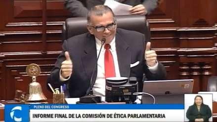Pedro Olaechea cometió lapsus que desató risas entre los congresistas