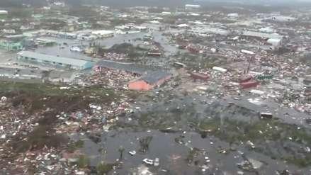 Los videos aéreos que muestran la devastaciónen Bahamas tras paso del huracán Dorian