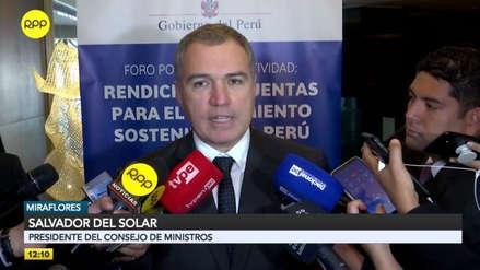 """Salvador del Solar respalda la labor de la Sunedu: """"Es parte esencial de la reforma educativa"""""""