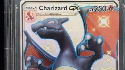 Pokémon: Carta rarísima de Charizard negro se vendió por más de 10 mil dólares