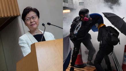 Gobierno de Hong Kong retirará proyecto de ley de extradición, una de las demandas en protestas