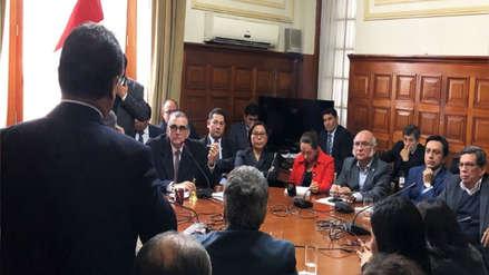 Junta de Portavoces acordó recomposición de la Comisión de Ética