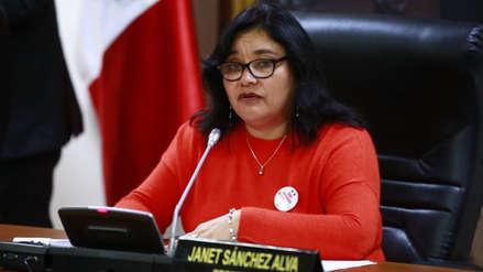 Fuerza Popular anuncia que Janet Sánchez continuará presidiendo Comisión de Ética