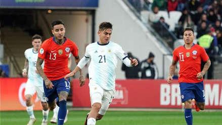 ¡No se hicieron daño! Chile igualó 0-0 con  Argentina en amistoso internacional