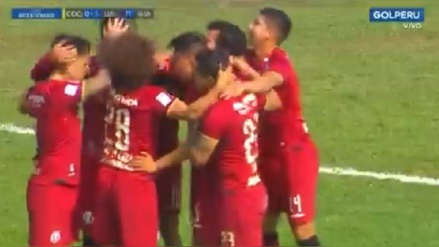 Universitario de Deportes: Rafael Guarderas marcó un golazo ante Deportivo Coopsol por la Copa Bicentenario