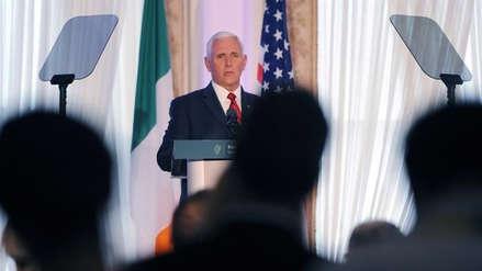 Polémica en EE.UU. porque Mike Pence se hospedó en un hotel de Donald Trump en Irlanda