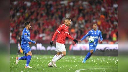 Internacional de Porto Alegre venció por 3-0 a Cruzeiro y clasificó a la Copa de Brasil