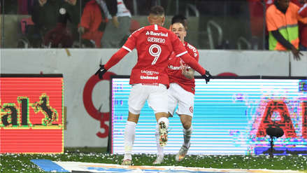 Con doblete de Paolo Guerrero, Internacional goleó 3-0 a Cruzeiro por la semifinal de la Copa Brasil