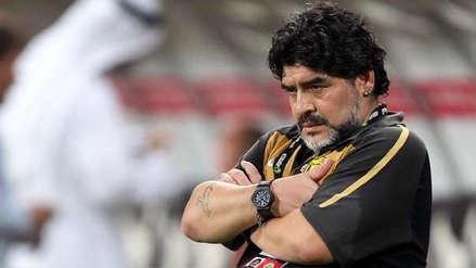 ¿Era cierto? Diego Armando Maradona aclaró si es el nuevo director técnico de Gimnasia y Esgrima La Plata