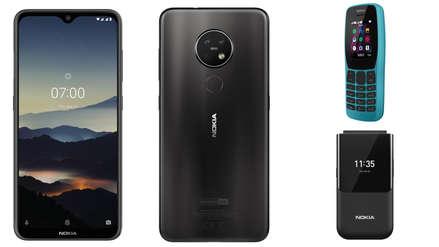 Nokia lleva la triple cámara a sus teléfonos de gama media y estrena una línea ultra resistente
