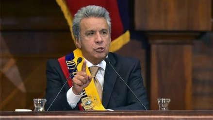 Lenín Moreno anunció que Ecuadorno firmará contratos con Odebrecht mientras sea presidente