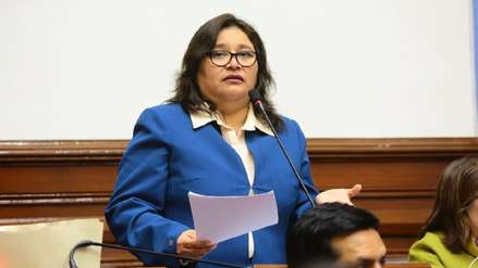 Janet Sánchez pide retirar proyecto para que el Congreso investigue adelanto de elecciones