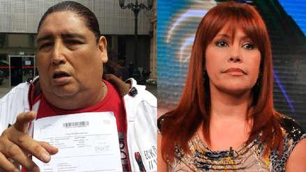 Tongo le reclama a Magaly Medina en su programa: