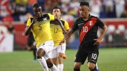 ¡De malas! Perú cayó 1-0 ante Ecuador en amistoso internacional por fecha FIFA