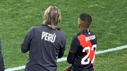Kevin Quevedo en su debut con la Selección Peruana: