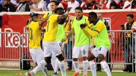 En el inicio del complemento: Perú sufrió con este gol de Ecuador