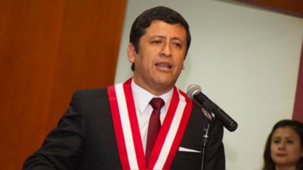 Fiscal de la Nación denunció a Guido Aguila ante el Congreso por tráfico de influencias