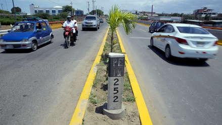 Reportan bloqueo en la Panamericana Norte tras desaparición de una menor
