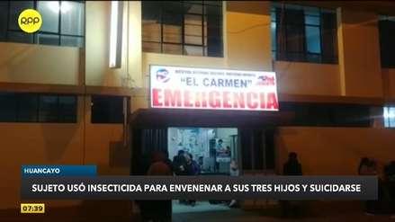 Conmoción en Huancayo: Padre envenenó a sus tres hijos y luego se suicidó