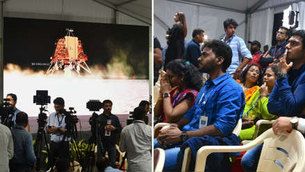 La India perdió contacto con su sonda Chandrayaan-2 durante el alunizaje
