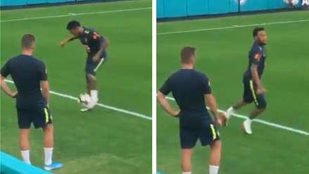¡Está ansioso por jugar! El lujo de Neymar en la práctica de Brasil a poco del amistoso con Colombia