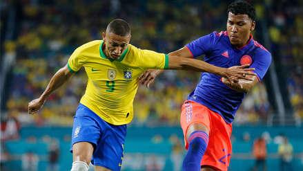 ¡Neymar regresó con gol! Colombia empató 2-2 con Brasil en amistoso internacional por fecha FIFA