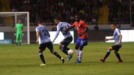 ¡Victoria 'charrúa'! Costa Rica cayó 2-1 ante Uruguay en amistoso internacional por fecha FIFA