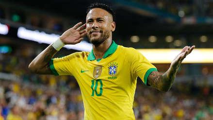 ¡Regresó! Neymar marcó el segundo gol de Brasil en el amistoso internacional ante Colombia