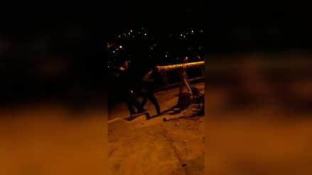 Padre podría ir a prisión por agredir y echar balde de agua fría a su hijo en Cusco