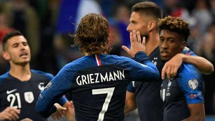 ¡Goleada! Francia venció 4-1 a Albania por el grupo H de las Eliminatorias rumbo a la Eurocopa 2020