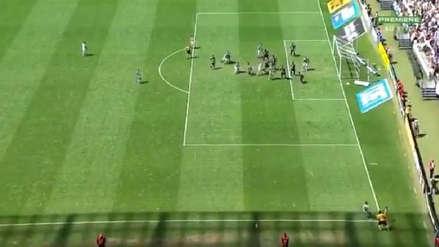 El fantástico gol olímpico al último minuto en el Brasileirao que está dando la vuelta al mundo