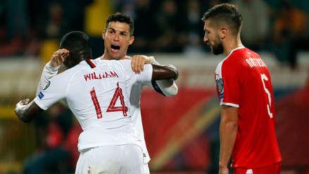 ¡Siempre goleador! Cristiano Ronaldo puso el tercer gol de Portugal en el partido ante Serbia