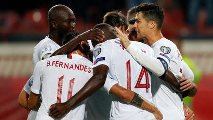 Con Cristiano Ronaldo, Portugal venció 4-2 a Serbia por las Eliminatorias de la Eurocopa 2020