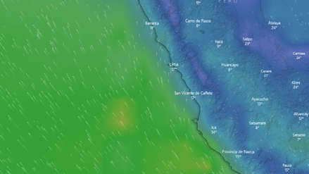 EN VIVO | Sigue la ruta de los fuertes vientos que se presentan en el litoral peruano