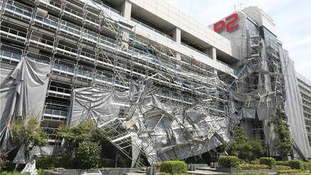 Las impresionantes imágenes de los daños causados por el paso del tifón Faxai en Japón