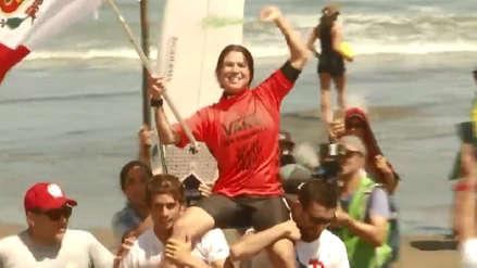 ¡Campeona! Sofía Mulanovich ganó la medalla de oro en el ISA World Surfing Games 2019