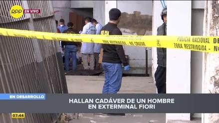 San Martín de Porres: Hallan restos de dos hombres en bolsas en exterminal de Fiori [VIDEO]