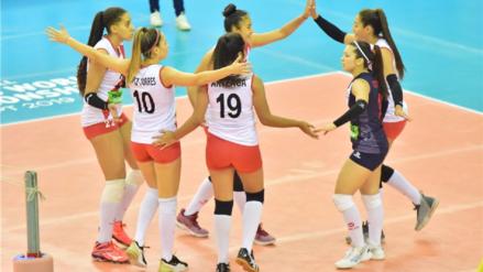 ¡Triunfo peruano! Perú venció 3-1 a Argentina y pasó a los cuartos de final del Mundial de Voleibol Sub 18